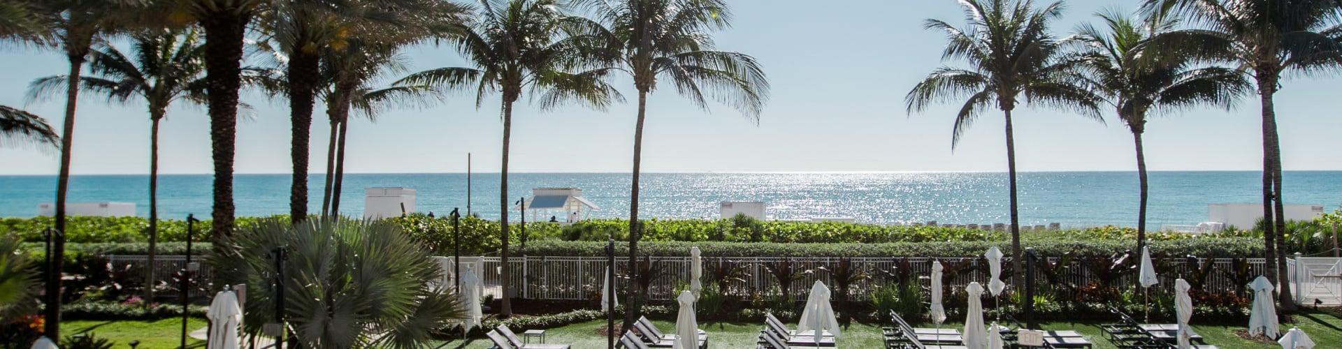 Ocean view from Eden Roc Miami Beach