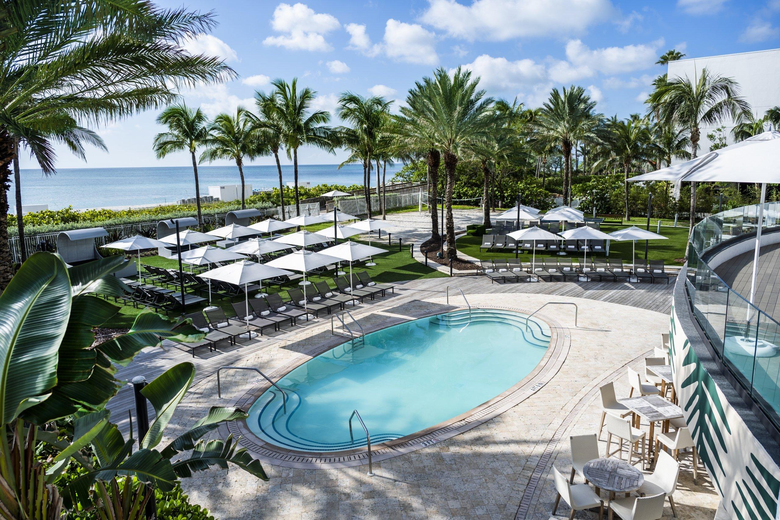 Pool at Eden Roc, Miami Beach