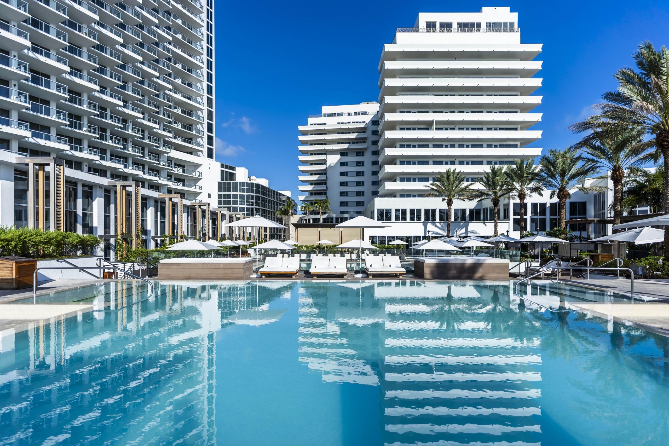 Palladium Pool at Eden Roc, Miami Beach