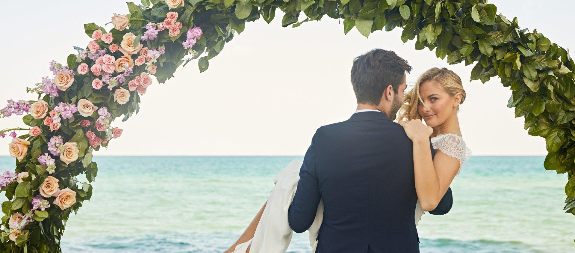 A wedding at Eden Roc, Miami Beach